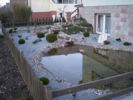 gartengestaltung hübner - gartenteiche - beispiele, Gartenarbeit ideen